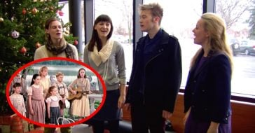 The Real Life Von Trapp Great Grandchildren Sing _Edelweiss_ For Unsuspecting Fans