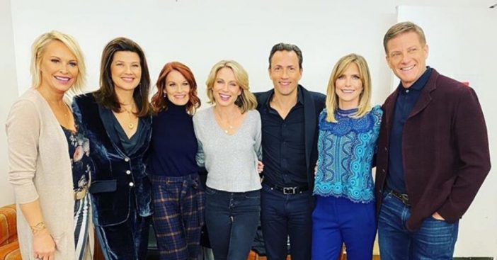 The cast of Melrose Place had a reunion