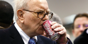 These days, Buffet is seen drinking Coke each day