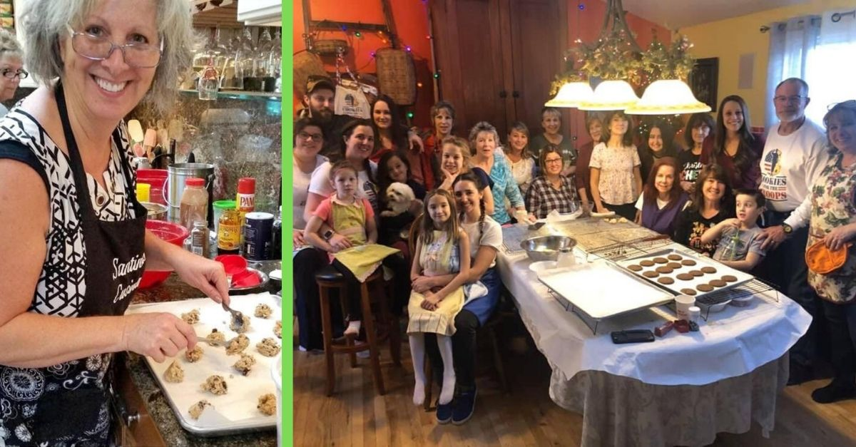 Volunteers Provide Nearly 4,000 Cookies For The Troops To Continue Late Friend's Tradition