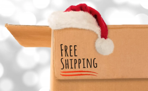 This holiday, we have more chances to get free shipping, but stay mindful of shipping speed still