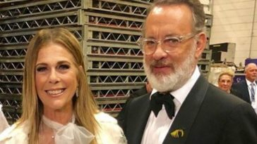 Tom Hanks and wife Rita Wilson look stunning at Kennedy Center ceremony