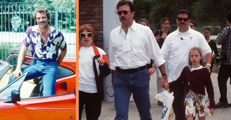 Tom Selleck Discusses Quitting 'Magnum' To Raise His Daughter