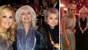 Trisha Yearwood and other stars pay tribute to Linda Ronstadt at Kennedy Center Honors