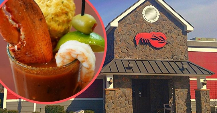 Try the new Lobster Claw Bloody Mary at Red Lobster