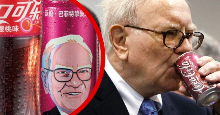 Upon a neighbor's glowing recommendation, Buffett switched from Pepsi to Coke