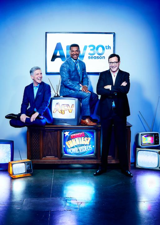 bob saget returns for america's funniest home videos 30th anniversary