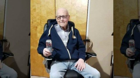 102 year old WWII veteran Andrew Slavonic secret to long life