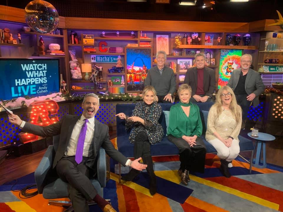 the brady bunch siblings on andy cohen watch what happens live
