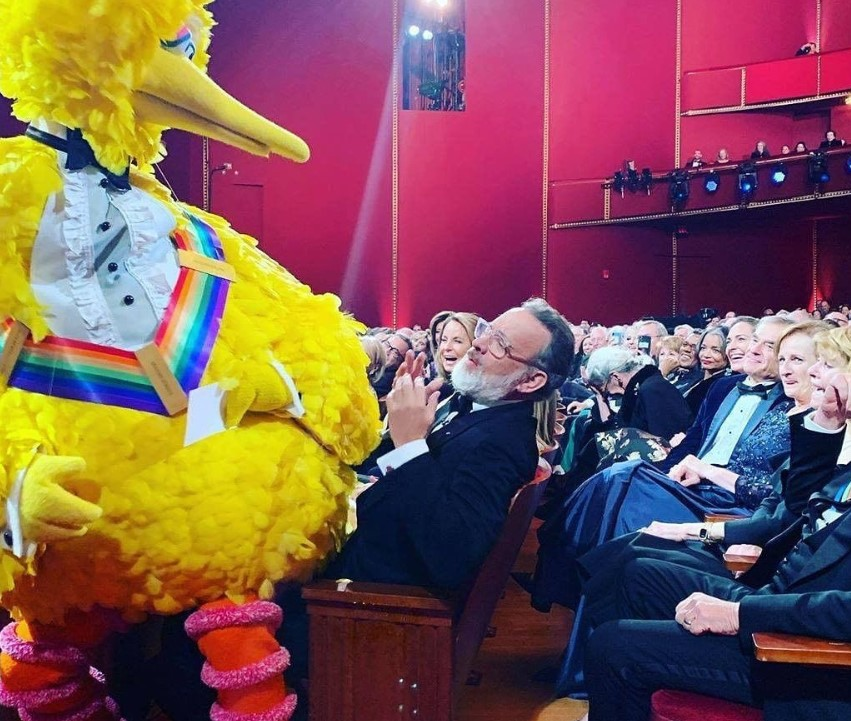 big bird tom hanks kennedy center honors