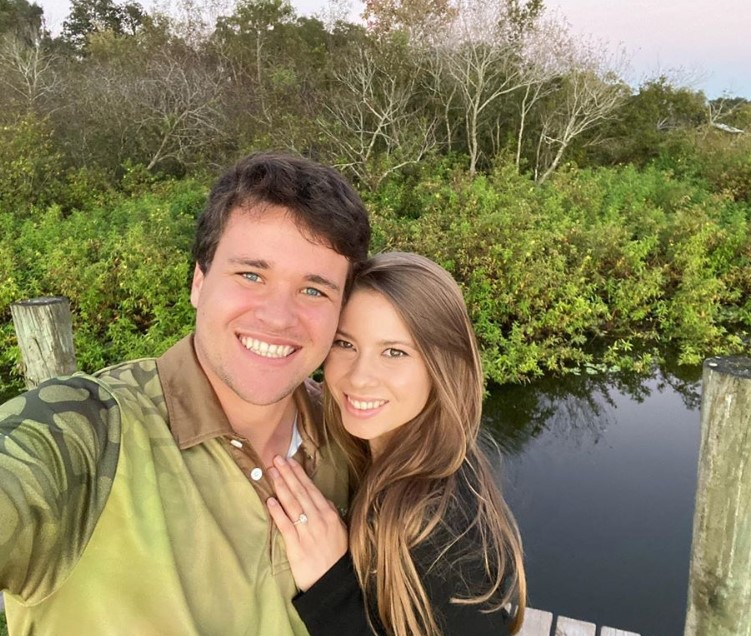 bindi irwin fiance chandler powell