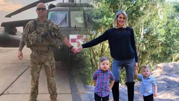 christmas card allows military family to reunite during holidays