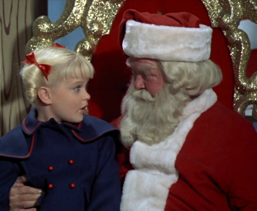 cindy and santa the brady bunch