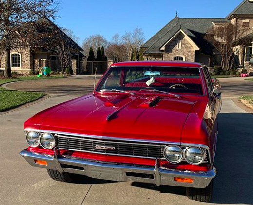 dale jr gifts wife 1966 el camino for christmas