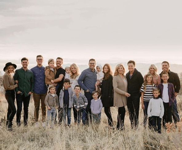 donny osmond shares rare family photo