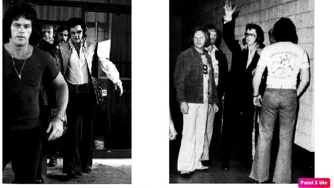 when led zeppelin met elvis presley