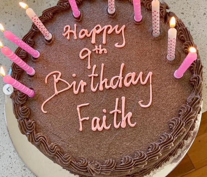 birthday cake faith