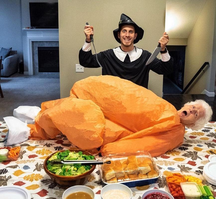 ross smith granny turkey thanksgiving