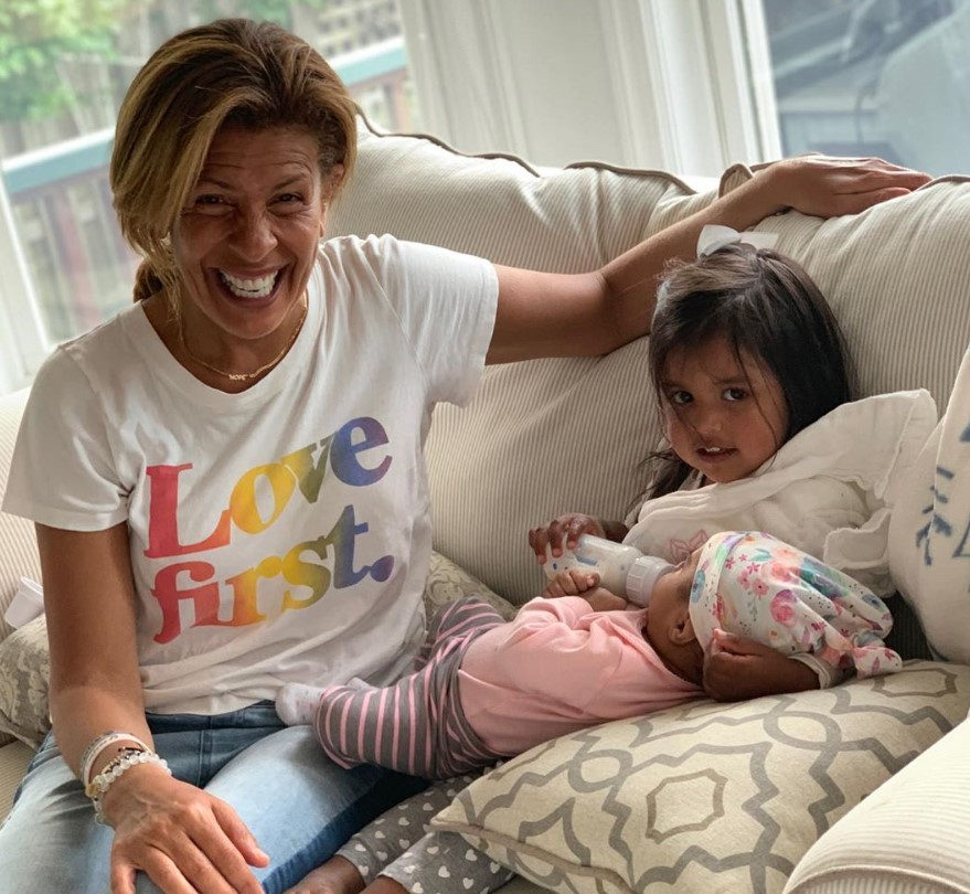 hoda kotb and haley and hope daughters