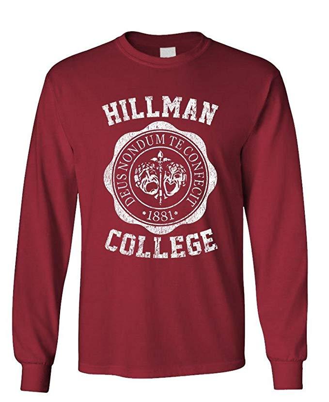 hillman college sweatshirt a different world