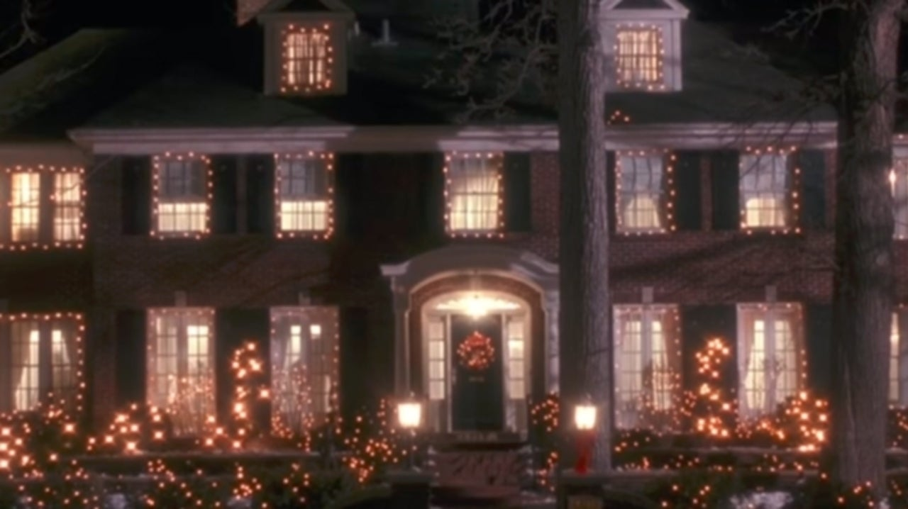 home alone house