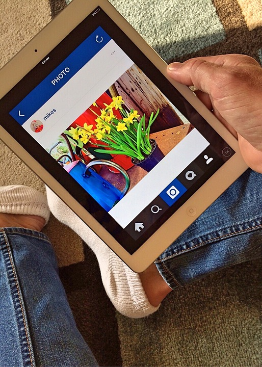 instagram on an ipad