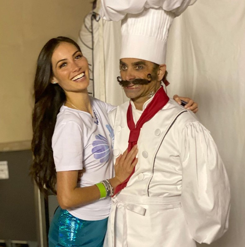 john stamos caitlin mchugh the little mermaid live chef louis