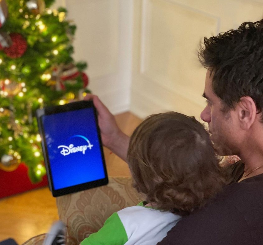 john stamos watching disney plus