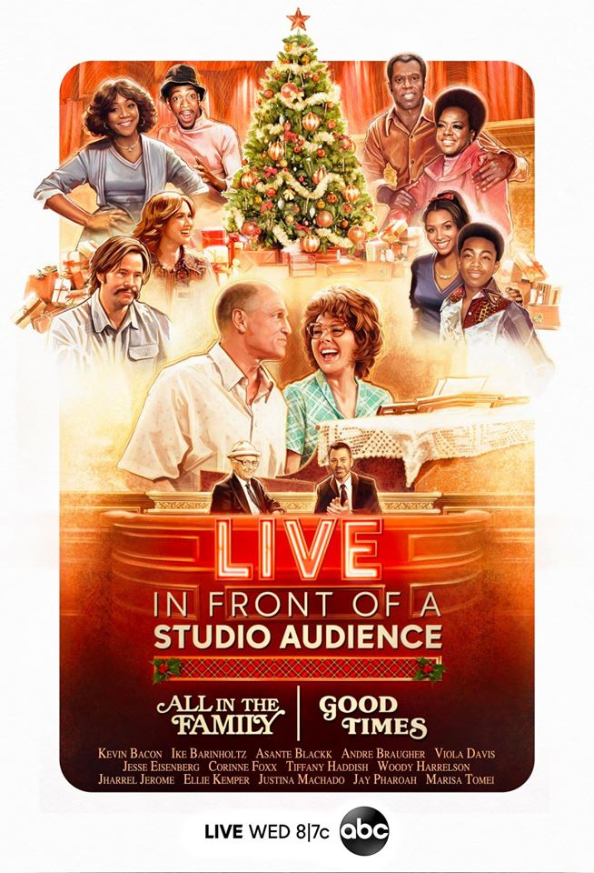 live in front of a studio audience good times all in the family