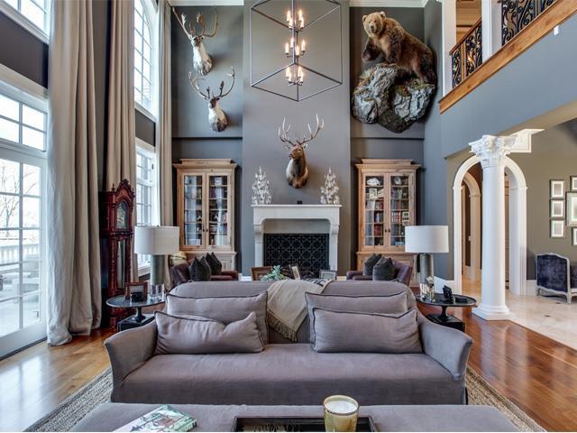 kelly clarkson living room