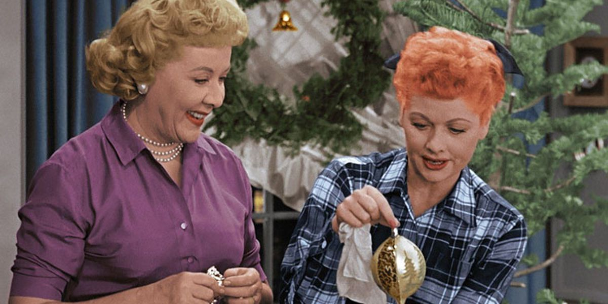 ethel and lucy i love lucy christmas episode