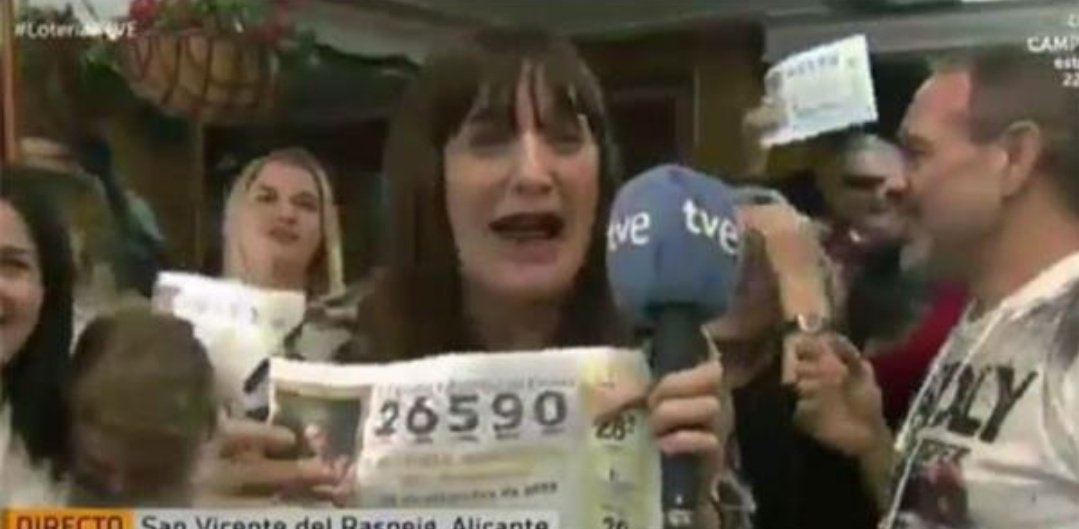 spanish reporter quits after lottery win