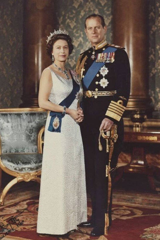 queen elizabeth prince philip young