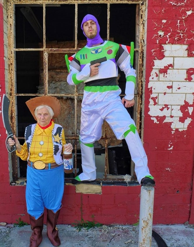 toy story buzz lightyear and woody costumes ross smith granny