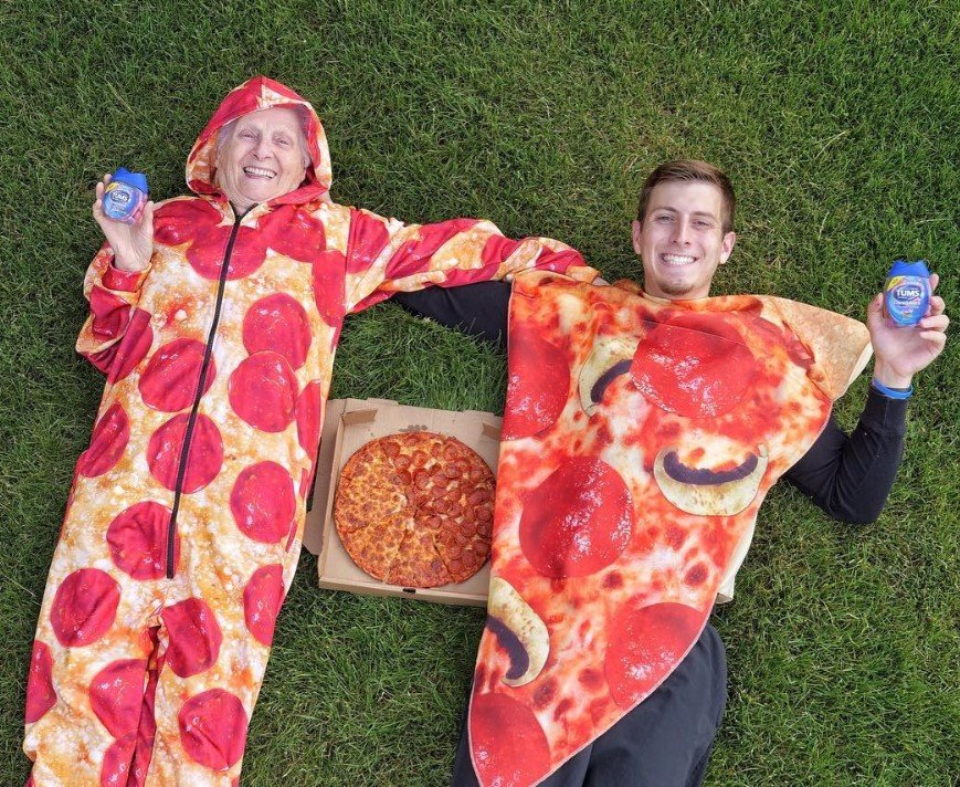 granny and ross pizza tums