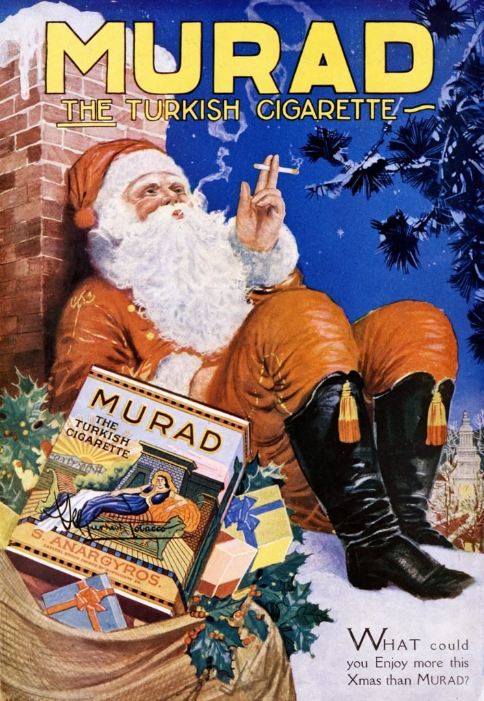 most popular vintage christmas ads