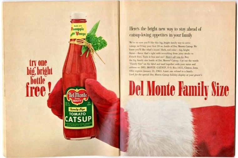 nostalgic santa ads