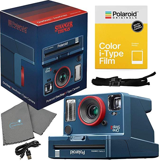 stranger things polaroid camera bundle