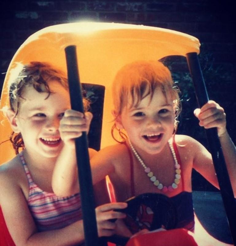 jenna and barbara bush throwback photos twins