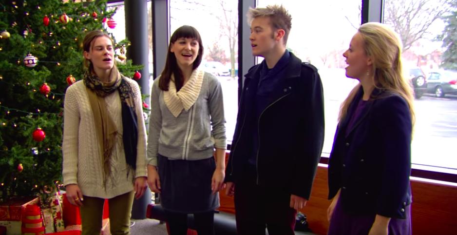 von trapp great grandchildren sing 'edelweiss'