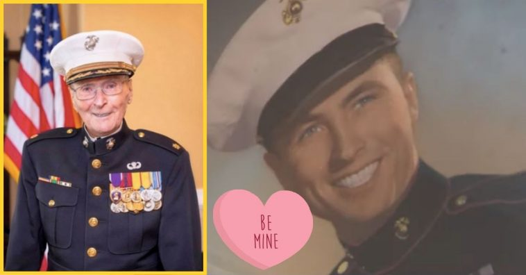 104-Year-Old WWII Veteran Is Asking Everyone For Valentine's Day Cards This Year