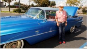 106-year-old World War II veteran Curly Bunfill has a lot of memories attached to his prized car