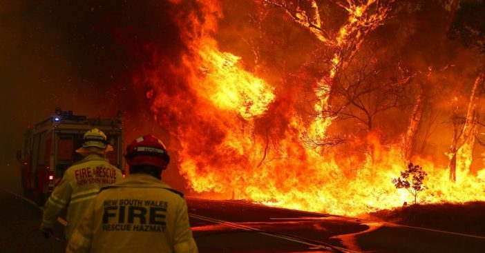 24 charged with intentionally setting Australia bushfires