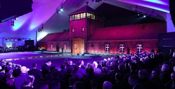auschwitz survivors attend 75th anniversary of liberation