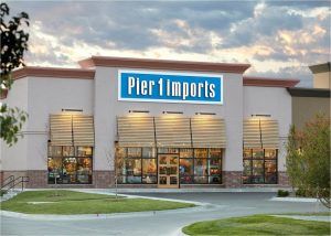 Almost half of the Pier 1 store locations are closing down