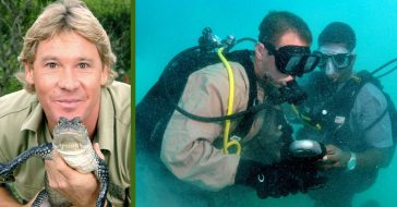 American Diver Scott Jones Tells The Story Of How Steve Irwin Saved His Life