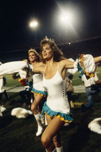 Any true Dolphins fan would have cheered right along with these women for their team