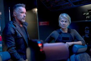 Arnold Schwarzenegger and Linda Hamilton are part of a strong team behind Terminator: Dark Fate