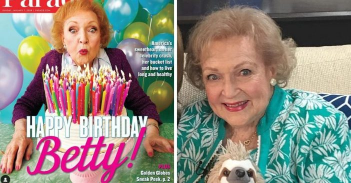 Betty White reveals plans for 98th birthday party