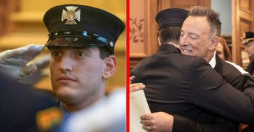 Bruce Springsteen's Youngest Son Has Been Sworn In As A New Jersey Firefighter